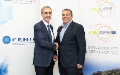 Firmamos un convenio con FENIE para fomentar el reciclaje de RAEE entre las empresas instaladoras