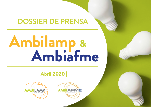dossier prensa ambilamp y ambiafme