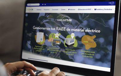 Lanzamos nueva web diseñada para ayudar a los profesionales a gestionar sus residuos de Material Eléctrico