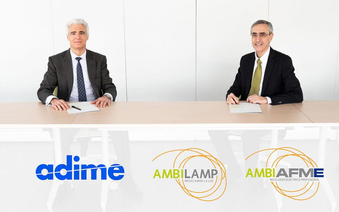ADIME y AMBILAMP-AMBIAFME firman un acuerdo para la incorporación de la distribución al marketplace social AMBIPLACE